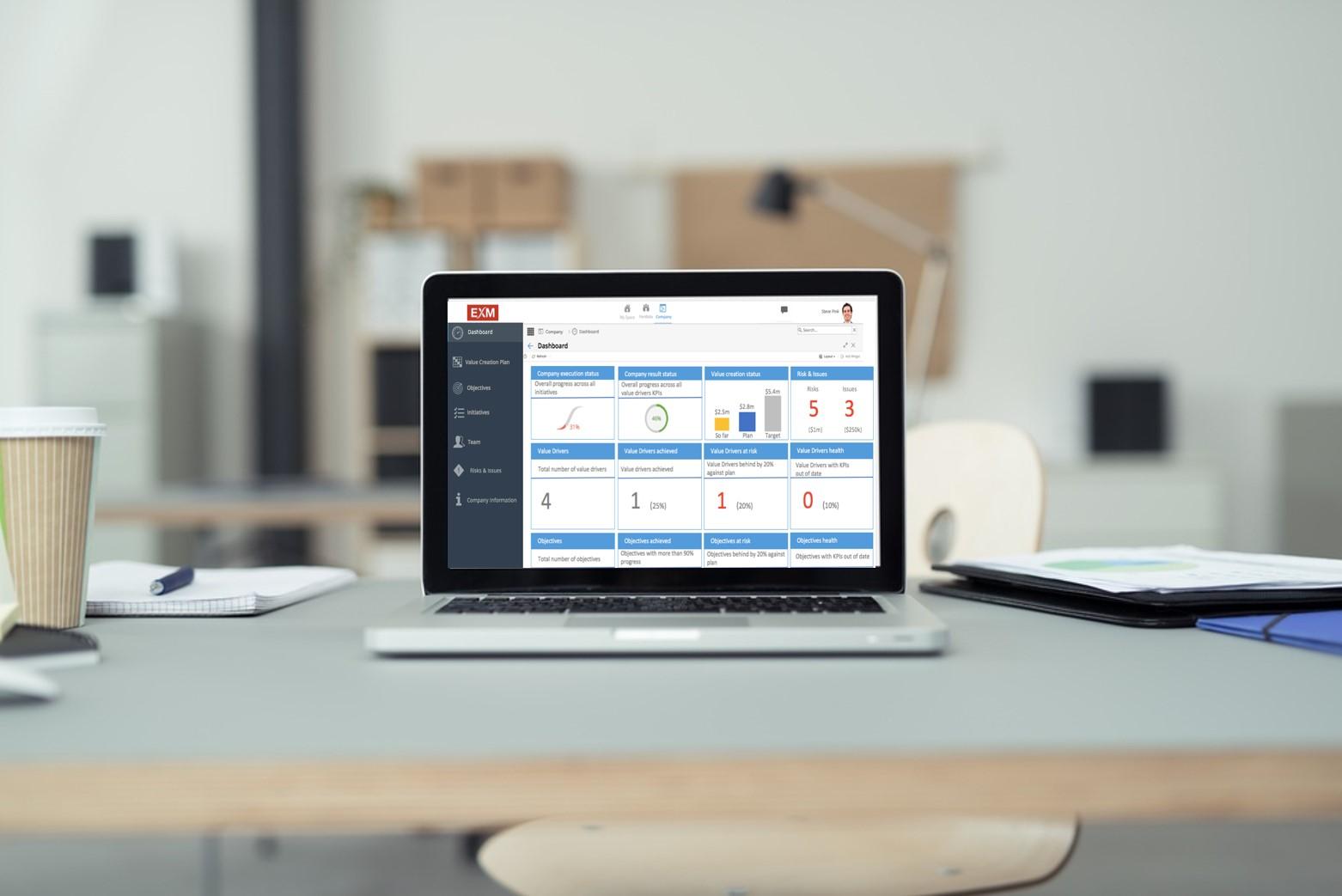 EXM cloud on a laptop