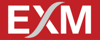 EXM LOGO WHITE ON RED S-1