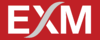 EXM LOGO WHITE ON RED S