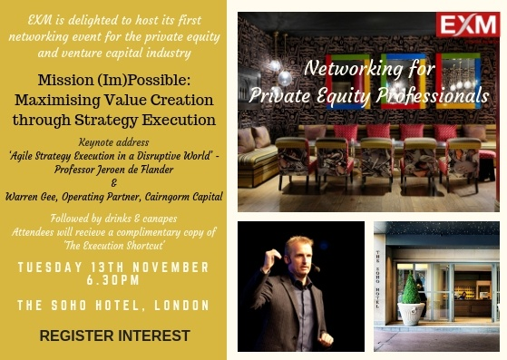 Register Interest Mission (Im)Possible 13 November Soho Hotel