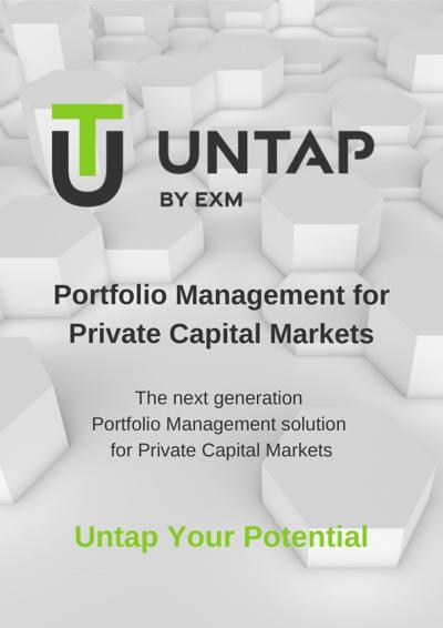 Untap Portfolio Management for Private Capital Markets