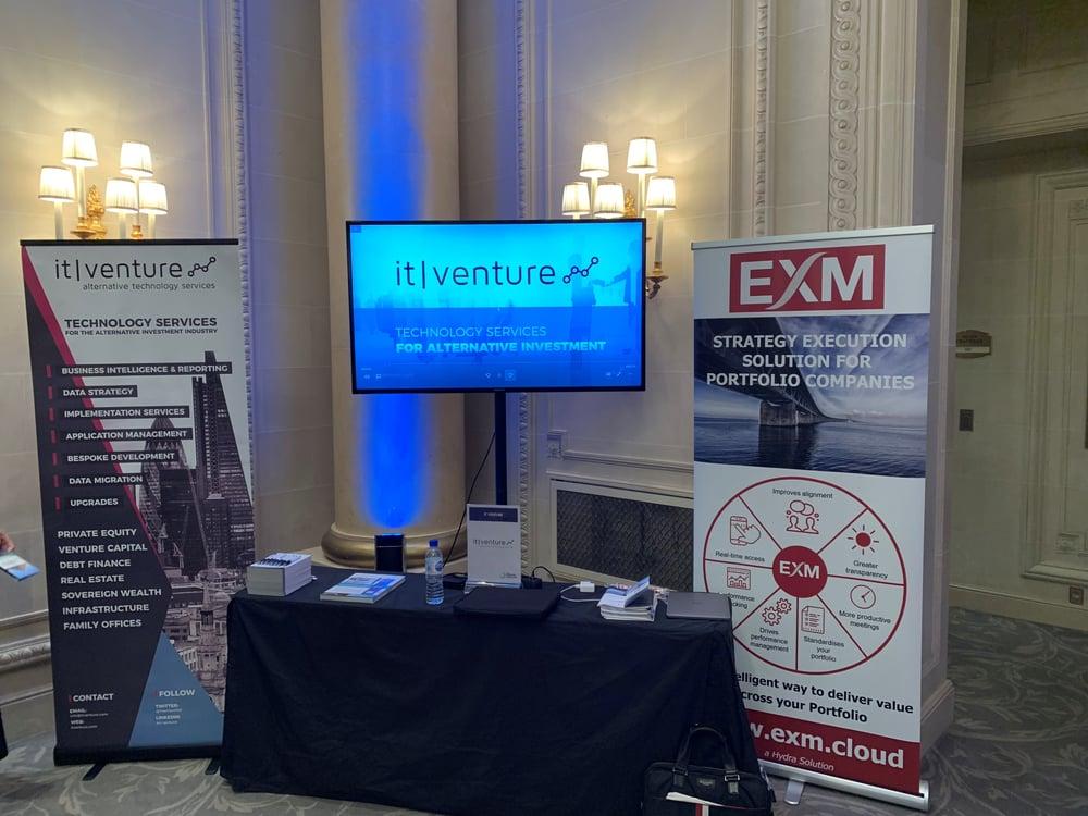 exm stand at efront paris forum