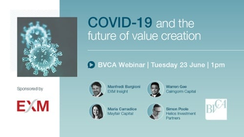 Webinar: COVID-19 and the future of value creation