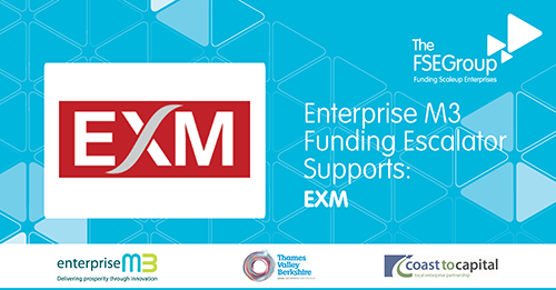 EXM receives new funding from The FSE Group